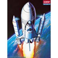 упаковка игры Космический корабль  Shuttle & Booster Rocket 1:288