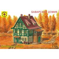 упаковка игры Миниатюра  баварский домик 1:120
