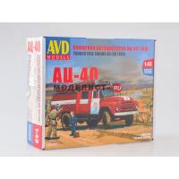 упаковка игры Пожарная автоцистерна АЦ-40 1:43