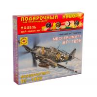 упаковка игры Немецкий истребитель Мессершмитт Bf-109E подарочный набор 1:72