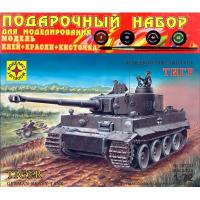 упаковка игры Танк Тигр подарочный набор 1:72