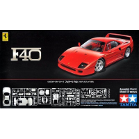 упаковка игры Ferrari F40 1:24