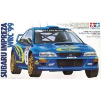 упаковка игры Subaru Impreza WRC'99 1:24