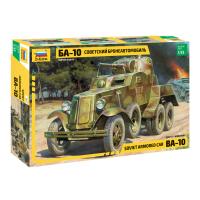 упаковка игры Бронеавтомобиль БА-10 1:35