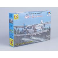 упаковка игры Самолет Ан-2 на лыжах 1:72