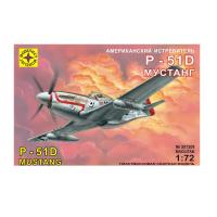 упаковка игры P-51D Мустанг 1:72