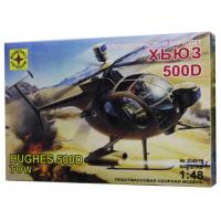 упаковка игры Противотанковый вертолет Хьюз 500Д 1:48