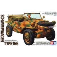 упаковка игры Schwimmwagen type 166 1:35