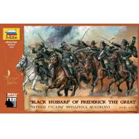 упаковка игры Черные гусары Фридриха Великого (XVIII век) 1:72