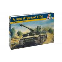 упаковка игры Танк TIGER I  AUSF. E/H1 1:35