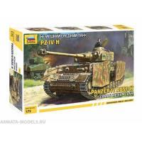 упаковка игры Немецкий средний танк PZ IV-H 1:72