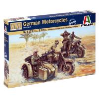 упаковка игры Немецкие мотоциклисты второй мировой войны 1:72