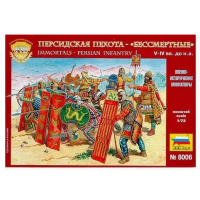 упаковка игры Персидская пехота 1:72