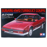 упаковка игры Subaru 4WD Turbo XT Coupe Alcyone 1:24