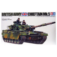 упаковка игры Танк Chieftain Mk.5 с 3 фигурами 1:35