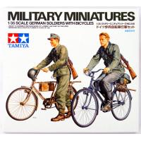 упаковка игры Немецкие солдаты на велосипедах 1:35
