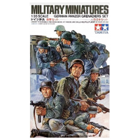 упаковка игры Немецкий танковый десант в действии 8 фигур 1:35