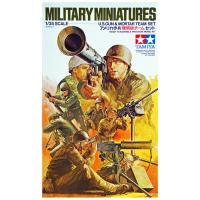 упаковка игры Американские пулеметчики и гранатометчики в бою 1:35