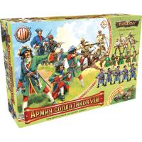 упаковка игры Армия солдатиков №8 Воины России