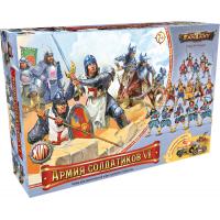 упаковка игры Армия солдатиков №6 Рыцари