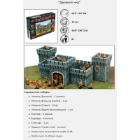 упаковка игры CastleCraft «Древний мир»