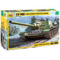 упаковка игры Советский истребитель танков СУ-100 1:35
