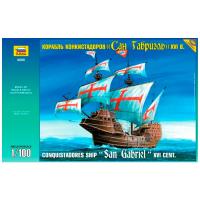 упаковка игры Корабль «Сан Габриэль» 1:100