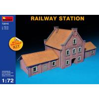 упаковка игры Диорама вокзала RAILWAY STATION 1:72