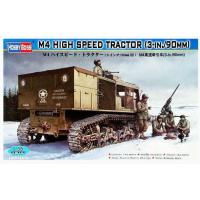 упаковка игры Сборная модель тягач M4 High Speed Tractor(3-in./90mm)1:35