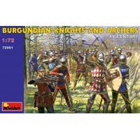 упаковка игры Бургундские рыцари и стрелки (XV век) 1:72