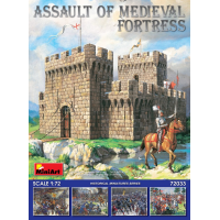 упаковка игры Средневековый замок 1:72
