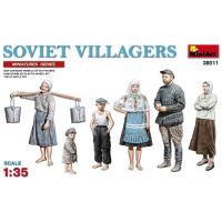 упаковка игры Советские сельские жители 1:35