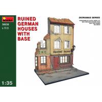 упаковка игры Разрушенные немецкие здания с основанием 1:35
