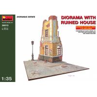 упаковка игры Диорама с разрушенным домом 1:35