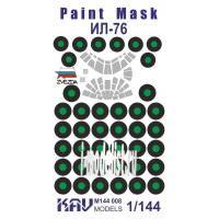 упаковка игры KAV M144 008 Окрасочная маска на Ил-76 (Звезда)