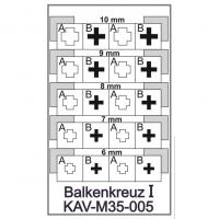 упаковка игры KAV M35 005 Трафарет