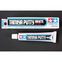 упаковка игры Tamiya Putty (Basic Type) шпаклевка белая 32гр.