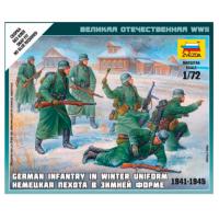 упаковка игры Немецкая пехота в зимней форме 1:72