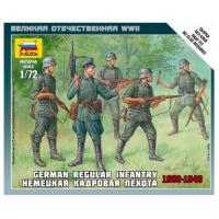 упаковка игры Немецкая кадровая пехота 1:72
