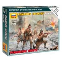 упаковка игры Румынская пехота 1:72