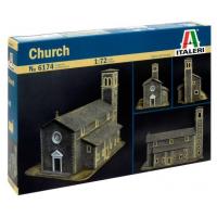 упаковка игры Диорама церковь (Church) 1:72