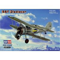 упаковка игры Сборная модель самолёт RAF Gladiator 1:72