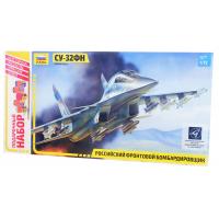упаковка игры Самолет Су-32ФН подарочный набор 1:72