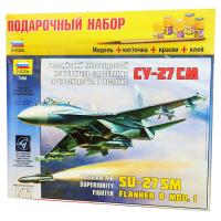 упаковка игры Cамолёт Су-27SM подарочный набор 1:72