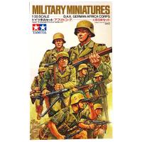 упаковка игры Немецкие солдаты африканского корпуса в атаке 1:35