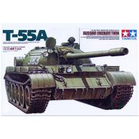 упаковка игры Танк Т-55А 1:35