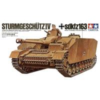 упаковка игры STURMGESCHUTZ IV SdKfz163 1:35