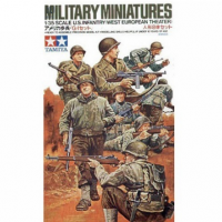 упаковка игры Американские пехотинцы (Вторая мировая) 1:35