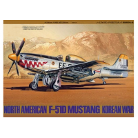 упаковка игры P-51D Mustang Korean War 1:48