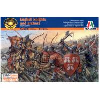упаковка игры Английские рыцари и лучники (столетняя война) 1:72